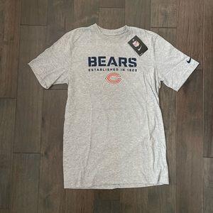Nike   Chicago Bears Grey T-Shirt